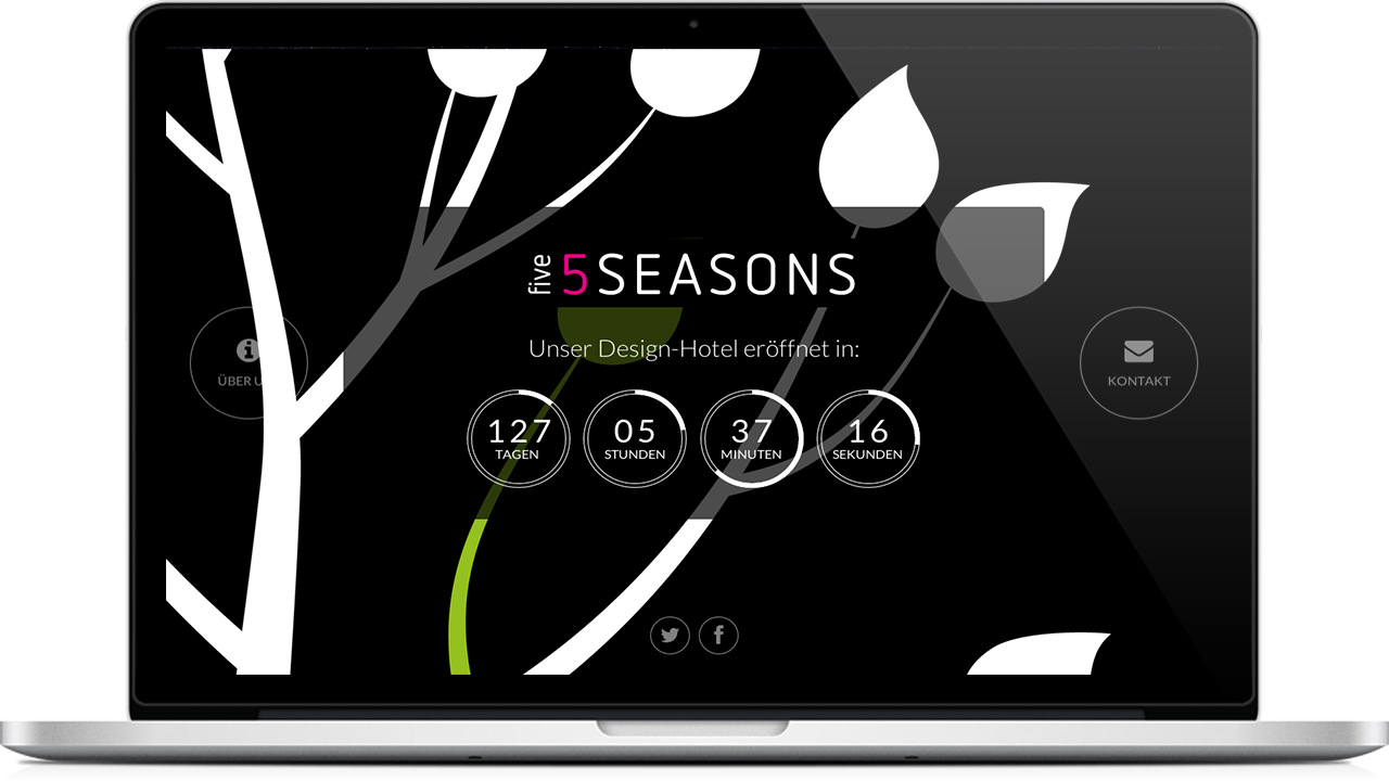 Fiveseasons landingpage wpfabrik for 5 seasons designhotel bremen